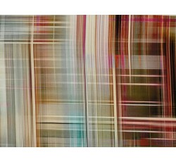Hedvábí - hedvábná šatovka 2042 růžové pruhy