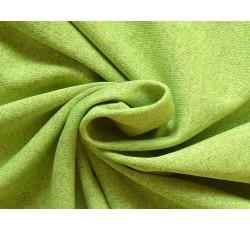 Bavlněné látky - signálně zelený bavlněný úplet 2091