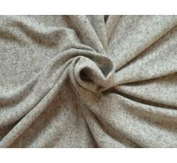 Bavlněné látky - pletenina 2102 šedá melanž