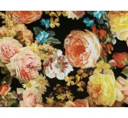 Halenkoviny - černá šatovka 2023 s růžemi