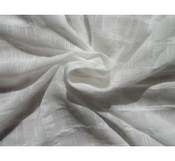 Bavlněné látky - bílá bavlněná látka 1958