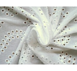 Bavlněné látky - madeira bílá 2151