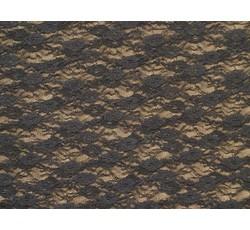 Krajky - elastická krajka 3212 černá