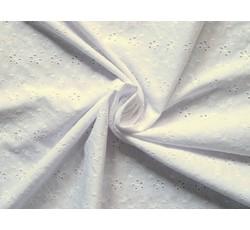 Bavlněné látky - madeira 51 bílá