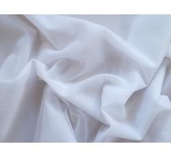 Tyly - elastický tyl scintila bílý