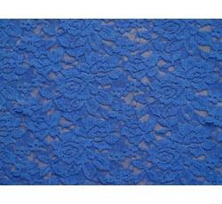 Krajky - elastická krajka 26 modrá