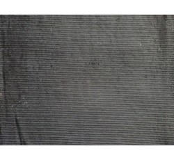 Kabátovky - kabátovka manšestr 8343 černý podšitý