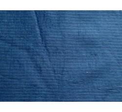 Kabátovky - kabátovka manšestr 8343 modrý podšitý II.jakost