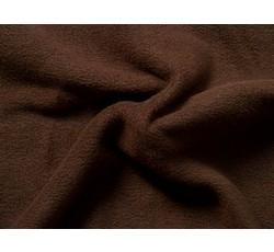 Fleece - fleece 111 tmavě hnědý