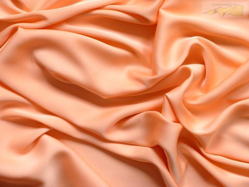 68333beaf84 hedvábí 8240 pastelovo oranžové - 94%Hedvábí 6%Spandex - Latky-eshop.cz