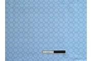 modrá bavlněná látka 4040 s ornamenty