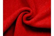 kabátovka vařená vlna červená