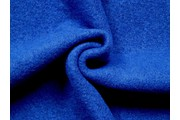 kabátovka vařená vlna královská modrá