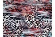 dvouvrstvý úplet 8554 zvířecí vzor