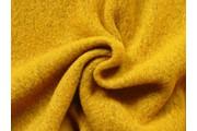 kabátovka vařená vlna hořčicová
