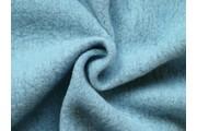 kabátovka vařená vlna světle modrá