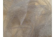 tyl effect šedý s glittery