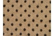 kabátovka vařená vlna béžová černé puntíky