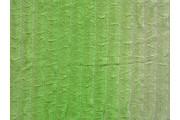 úplet plise zelený s volány
