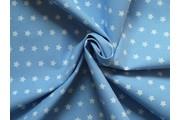 bavlněná látka artcraft modrá s hvězdičkami