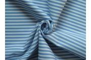 bavlněná látka artcraft modrá s proužky