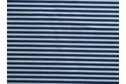 Bavlněné látky - bavlněná látka artcraft tm.modrá s proužky