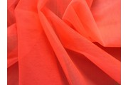 tyl neonově růžový