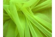 tyl neonově zelenožlutý