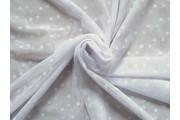 tyl 3765 bílý bílý puntík
