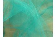 tyl effect vodově zelený s glittery