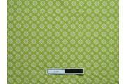 zelená bavlněná látka 4020 se vzorem