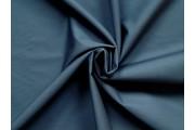 bavlněný popelín tmavě modrý