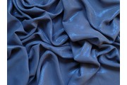 šifon 33 tmavě modrý s leskem