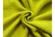 kabátovka vařená vlna signálně žlutá