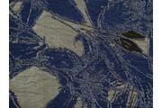 společenská látka 8845 modrá