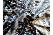 Úplety - úplet 8865 norský vzor s leskem