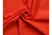 bavlněný úplet felpa červený
