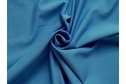 bavlněný úplet felpa modrý