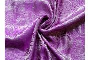 brokát 11 fialový