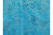 Brokáty - brokát 13 tyrkysový