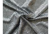 Pailetes 7 stříbrná