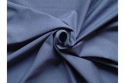 bavlněný úplet 110 tmavě modrý