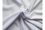 bavlněný úplet 100 bílý