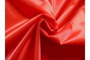polyesterová podšívka 166 červená