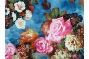 nylonový úplet 9662 s květy