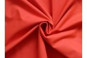 bavlněný popelín 226 červený