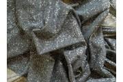 elastický černý tyl pandora s glittery