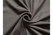 bavlněná počesaná teplákovina 90 černá