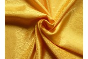 žakárová podšívka cachemire 325 žlutá