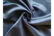 saténová podšívka tmavě modrá